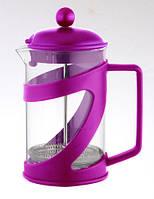 Чайник френч-пресс (заварник) Con Brio СВ-5460 фиолетовый, 600 мл
