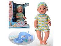 Детская кукла интерактивная пупс Baby Born bl015