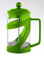 Чайник френч-пресс (заварник) Con Brio СВ-5460 зеленый, 600 мл
