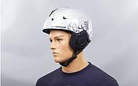 Шлем горнолыжный (белый)