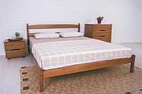 """Кровать двухспальная """"Лика без изножья"""", дерево ( ТМ Олимп)"""