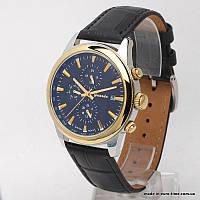 Мужские часы с кожаным ремешком, guardo S1033G2B