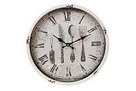 """Настенные металлические часы для кухни """"Таверна"""", 30 см."""