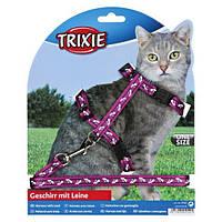 """Поводок+шлея для кошек Trixie """"Сomic"""""""