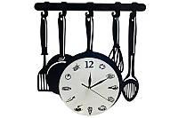 """Часы настенные c с маятником """"Кухонный набор"""", 39 см"""