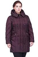 Теплая однотонная курточка