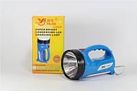 Ручной фонарь лампа аккумуляторный светильник YJ 2804W светодиодный фонарик