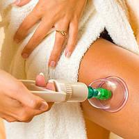 Вакуумные антицеллюлитные банки с насосом - pull out a vacuum apparatus KL 12шт