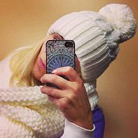 Комплект шапка и снуд шарф хомут можно по отдельности ОПТ И РОЗ 320 ГРН