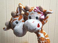 Жирафы влюбленная парочка мягкая музыкальная игруш