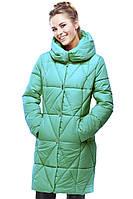 Женское пальто современного фасона