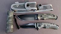 Набор тактических ножей Commandos из фонариком 3 в 1