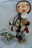 Текстильная кукла ручной работы Алешка