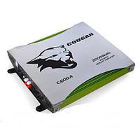 Авто усилитель мощности звука фирменный Cougar CAR AMP 600.4, усилитель звука