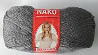 Полушерстяная пряжа Nako Soft Wool 4192