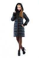 Зимняя женская куртка в черном цвете К-32
