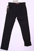 Зимние мужские джинсы черные Waguss (код 080)