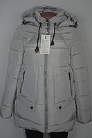 Женская зимняя куртка белая