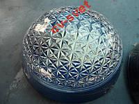 Светильник настенно-потолочный пластик синий