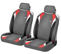 Маечки на передние сиденья FORMULA ✓ цвет: серый-красный