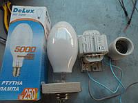Комплект ДРЛ 250w Дуговая ртутная лампа