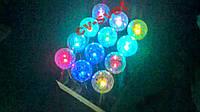 Садовый светильник разноцветный RGB LED PL256