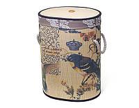 "Складная корзина для белья ""Сад"", бамбук, 40x30x55см.."