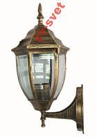 Фонарь садово-парковый PL5101 60w античное золото