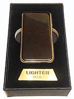 Зажигалка USB с лазером 4754 Black