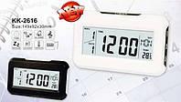 Часы электронные 2616 настольные часы будильник, таймер, календарь, метеостанция