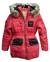 Куртка детская на девочку мех