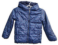 Куртка детская на девочку звезды