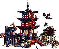 Конструктор Ниндзя го Храм Аэроджитцу Lele 79247 (аналог LEGO Ninjago 70751)