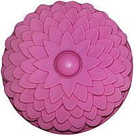 Форма силиконовая Empire 7142 Цветок 22,5*3,5 см для выпекания кексов