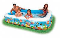 Семейный надувной бассейн Intex 58485 Немо 305x183x56 см