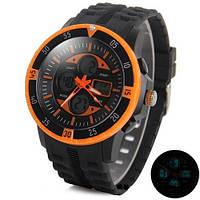 Спортивные наручные часы Skmei 1046 армейские водонепроницаемые ударопрочные