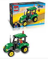 """Конструктор Brick City Series """"Трактор"""" 1102, 112 дет"""