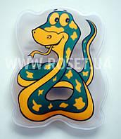 Детская солевая грелка - Змейка