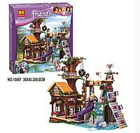 """Конструктор Bela Friends 10497 """"Спортивный лагерь: дом на дереве"""" (аналог LEGO Friends 41122), 739 дет"""