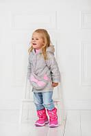 Детское полупальто+сумка для девочки КРАСОТКА-2