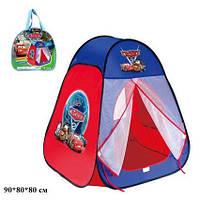 Палатка детская 811 Тачки 80х80х90см