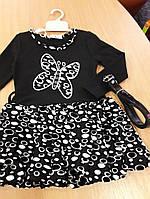 Платье для девочки трикотаж 92,98 размеры