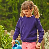 Детская фиолетовая толстовка (Комфорт)