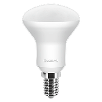 LED Светодиодная Рефлекторная Лампа R50 5W E14 GLOBAL 400lm,4000k