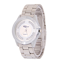 Женские наручные часы Quartz серебряные