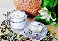 Натуральный увлажняющий крем для лица с экстрактом Зеленого чая для всех типов кожи