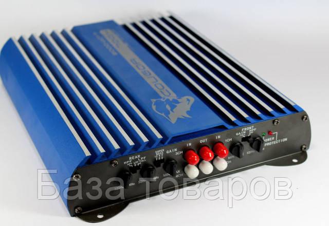 Усилитель звука автомобильный 4 канальный