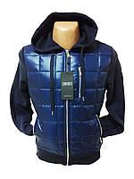 Куртка мужская весна - осень с капюшоном