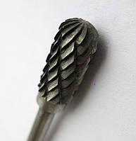 Борфреза твердосплавная 6х3мм Тип C (цилиндр скругленный)