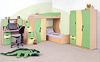 Детская спальня Саванна ваниль/фисташка (Світ Меблів ТМ)